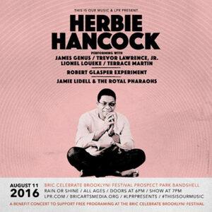 Herbie Hancock at Prospect Park Bandshell